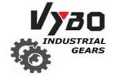výstupné hriadele pre šnekové prevodovky vybo gears