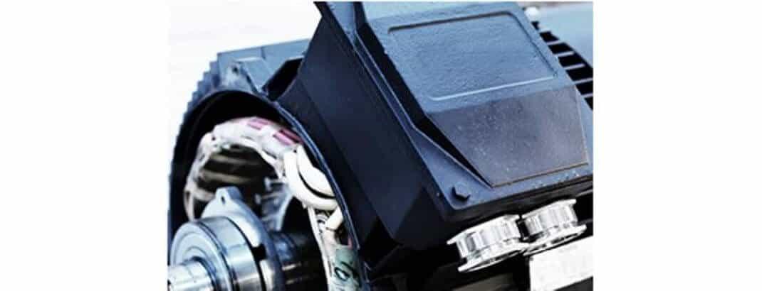 elektromotor detail